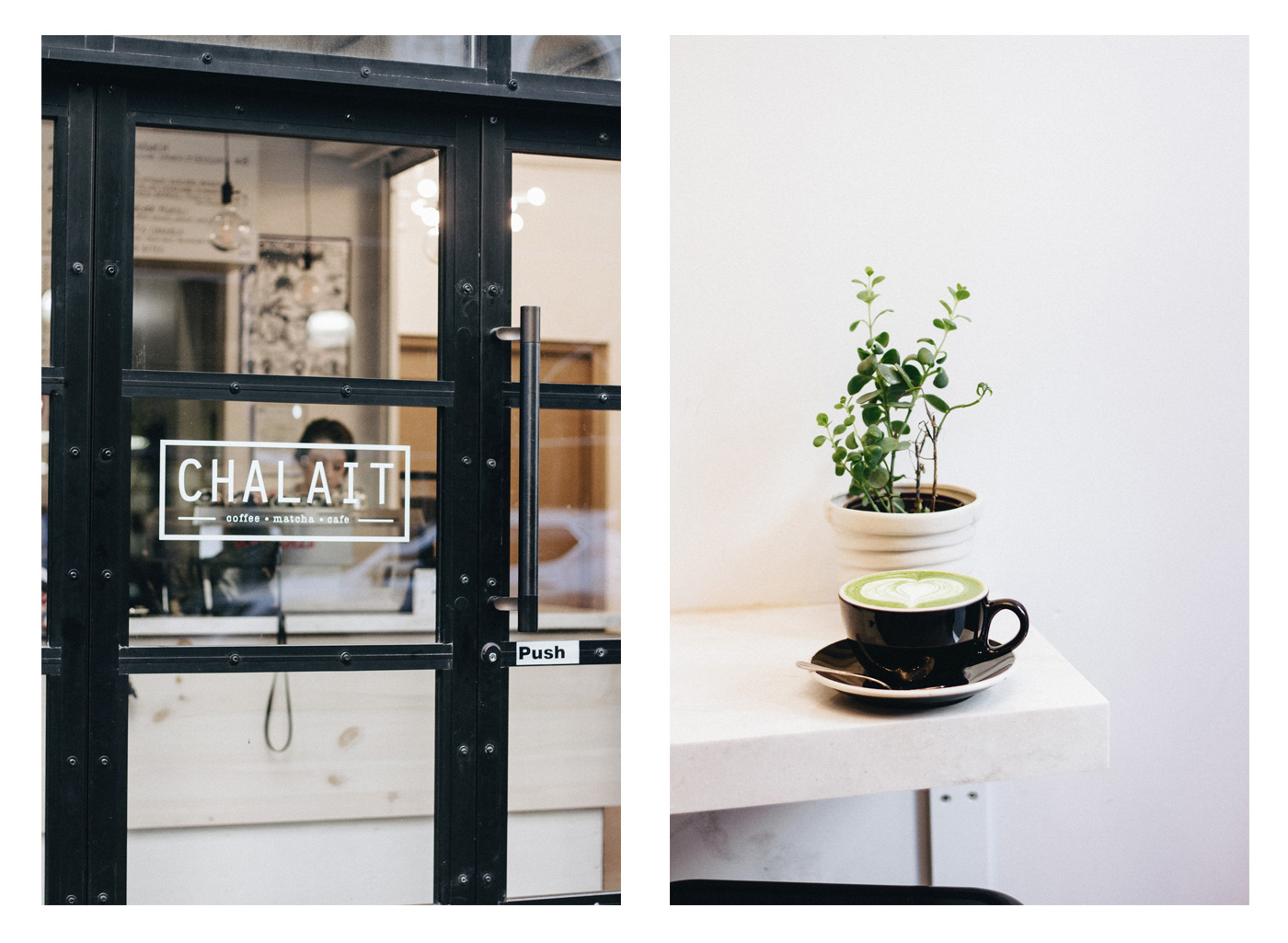 Le Chalait aka the best place in new york city to drink a matcha latte