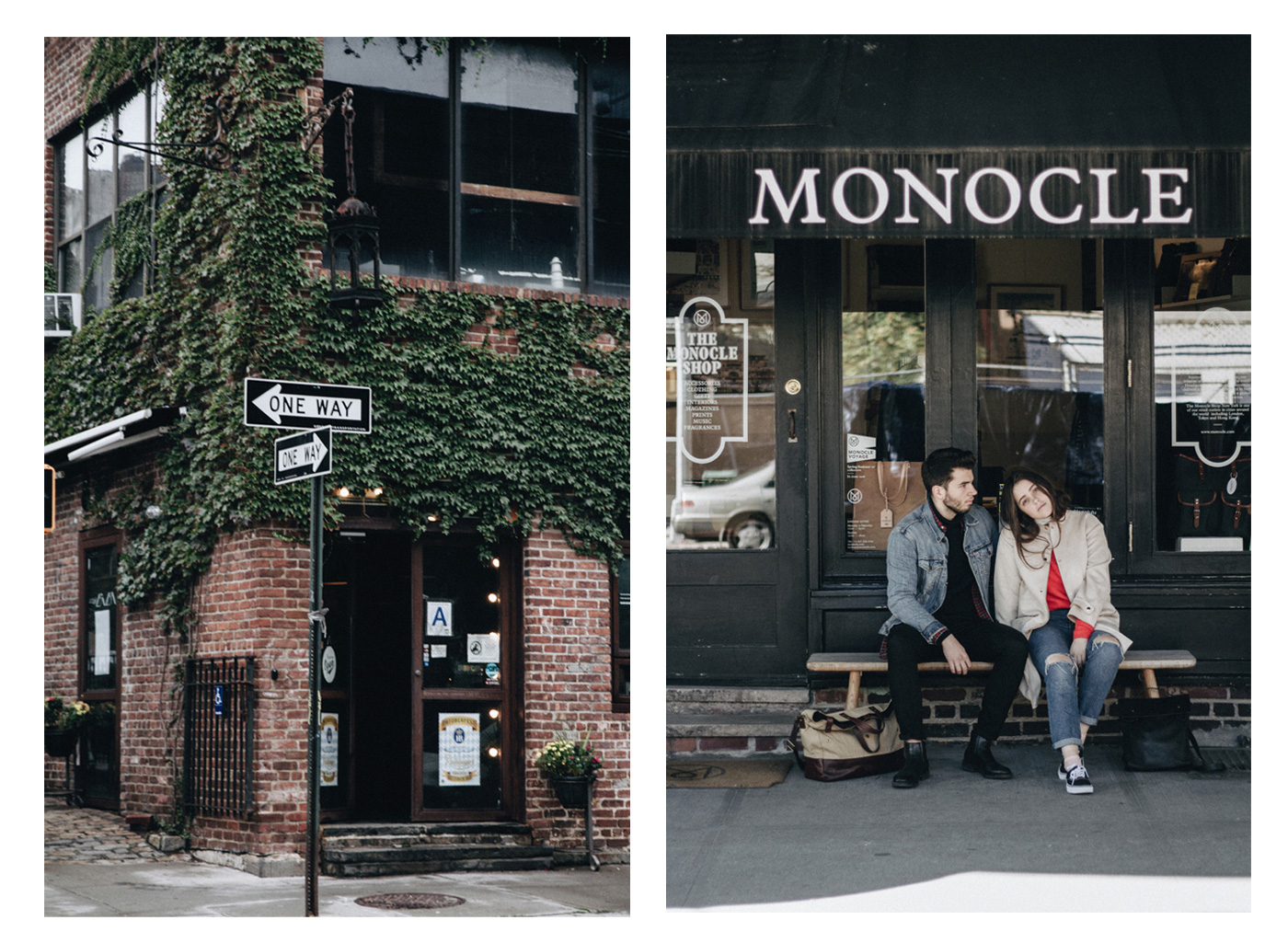 Monocle shop in the west village of New York city