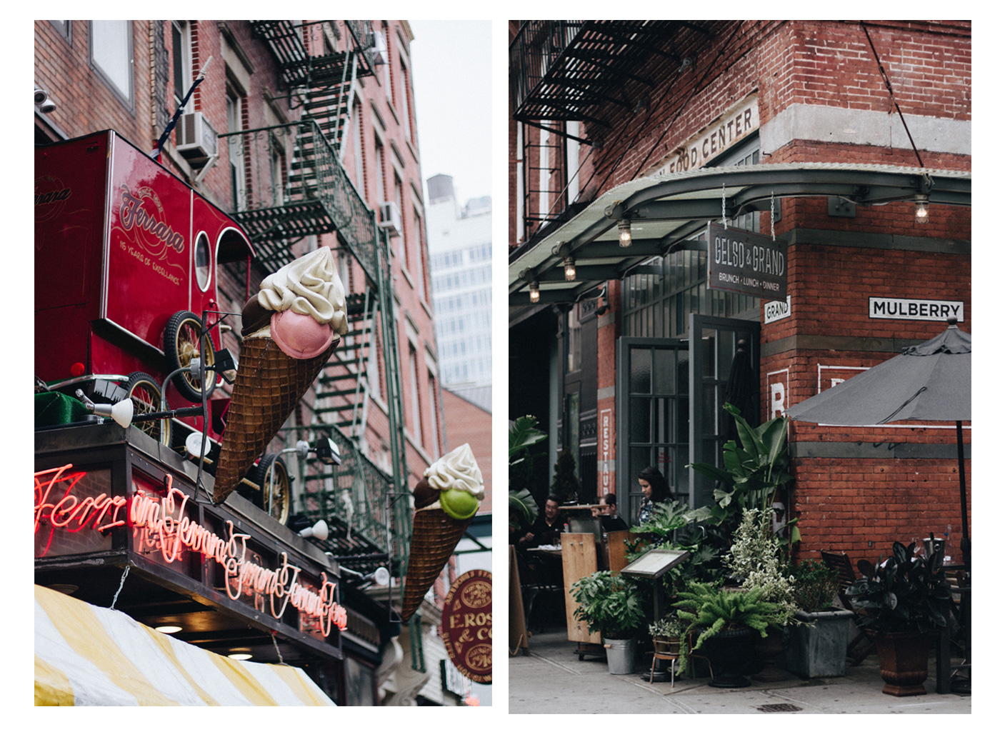 two corner stre in new york city from this city guide at La Babineau