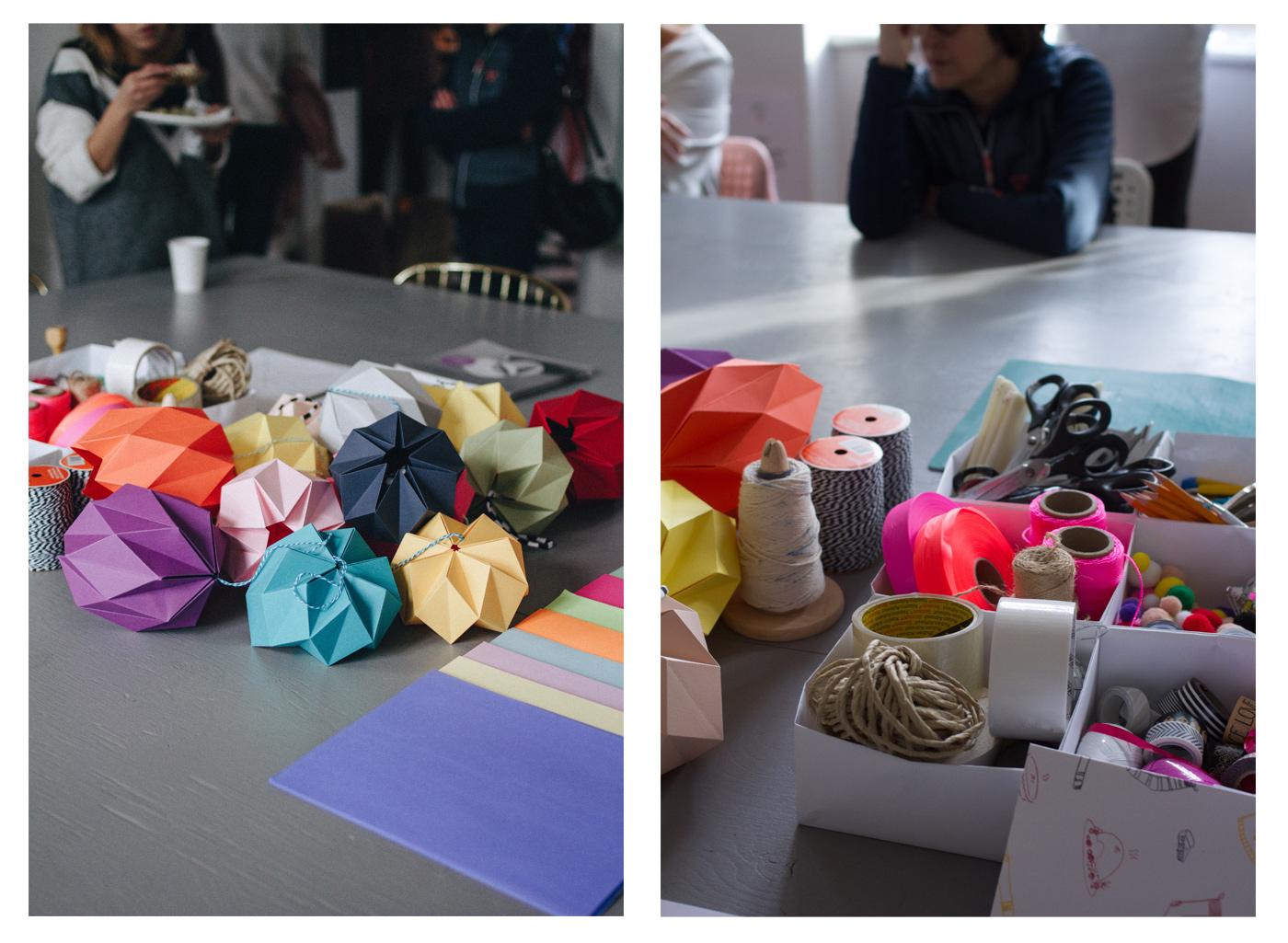 Atelier origami avec Pauline de Miss cloudy