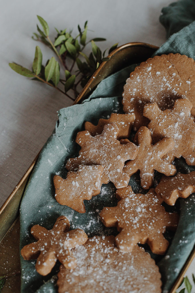 Christmas gingerbread cookies perfect for the holiday season